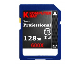 Komputerbay 128GB SDXC CARD CLASS 10 KB_128GB_CL10_SDXC_600X