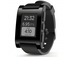 Pebble Smartwatch Black for iPhone and Android