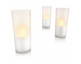 PHILIPS IMAGEO LED CANDLE GLASS 3SET 3 ΤΕΜΑΧΙΑ WHITE