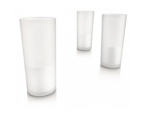 PHILIPS IMAGEO LED CANDLE GLASS 3SET 3 ΤΕΜΑΧΙΑ WHITE