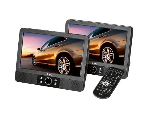 "AEG DVD 4551 LCD 2 x 7"""