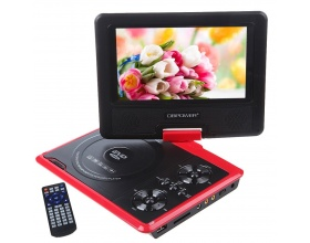 "DBPOWER 7.5"" ΦΟΡΗΤΟ DVD PLAYER NS-758 RED"
