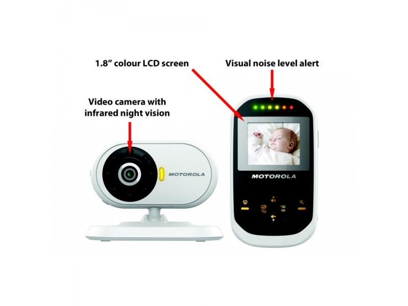 motorola mbp18 digital video baby monitor eu. Black Bedroom Furniture Sets. Home Design Ideas