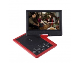 "DBPOWER 9,5"" ΦΟΡΗΤΟ DVD PLAYER KMPRO509 RED"