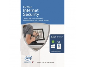 McAfee Internet Security 2016 Unlimited Devices (FFP) (PC/Mac/Android/iOS) 1 year