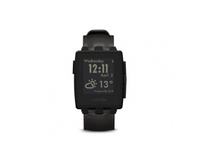 Pebble 401BLR Steel Smartwatch - Matte Black 66320