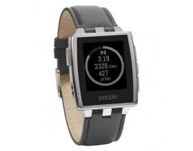 Pebble 401SLR Steel Smartwatch - Brushed 66321