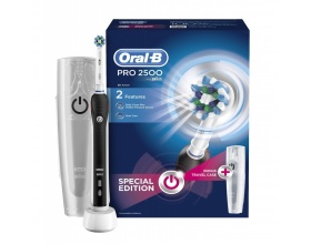 BRAUN Oral-B Pro 2500 Special Edition Black + Travelcase