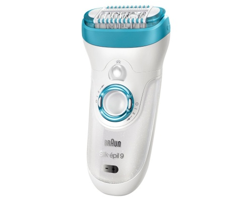 Braun Silk Epil 9 9-549 Wet and Dry (4 Extra Attachments)