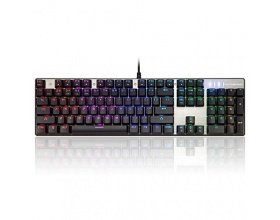 MOTOSPEED Inflictor CK104 Mechanical Gaming Keyboard  -  Silver