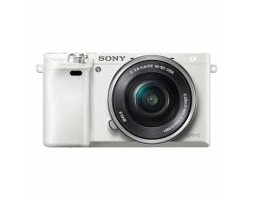 Sony Alpha 6000 Kit white + SEL-P 16-50