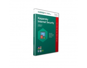 Kaspersky Internet Security 2017 (5 Devices, 1 Year) Retail Box (PC/Mac/Android)