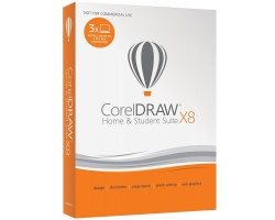CORELDRAW Home and Student Suite X8 (PC)