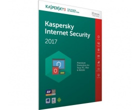 Kaspersky Internet Security 2017 (3 Devices, 1 Year) Retail Box (PC/Mac/Android)