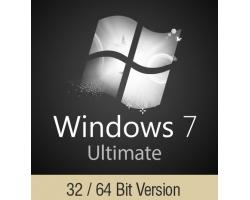 Windows 7 Ultimate Κλειδί ενεργοποίησης Multilanguage 32 - 64bit OEM