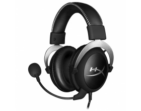 Kingston HyperX Cloud Headset USB Silver for PS4, XBOX ONE, PC (HX-HSCL-SR/NA)