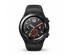 Huawei Watch 2, SmartWatch Sport Black LTE ( με nano SIM CARD) 55021667