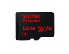 Sandisk Extreme microSDXC 128GB 90MB/s V30 & SD Adapter