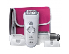Braun epilator Silk-epil 7-561 (White) Gifting edition + Θήκη