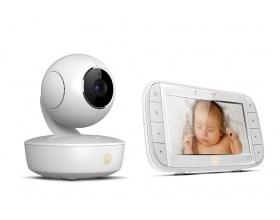 Motorola MBP50 Ενδοεπικοινωνία μωρού με έγχρωμο monitor LCD 5'' & κατευθυνόμενη κάμερα