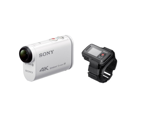 Sony FDR-X1000VR Action Cam 4K with Live View Remote Watch
