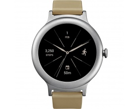 Lg Smartwatch Style Silver Stainless Steel