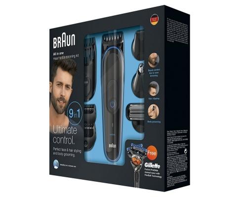 Braun MGK3080 Multi Grooming Kit -9-in-one