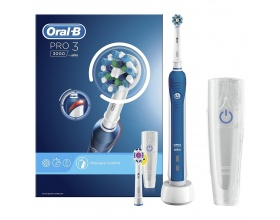 Braun Oral-B PRO 3000 CrossAction & Travel Case