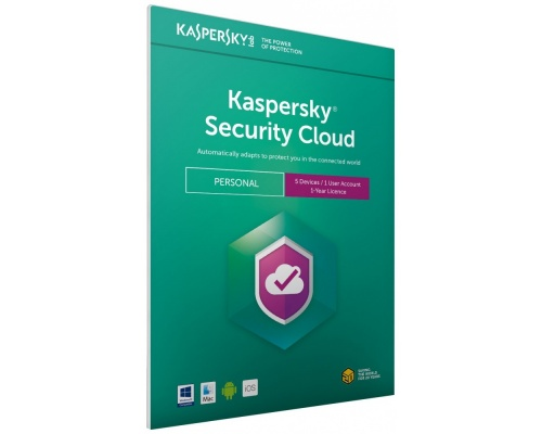 Kaspersky Security Cloud 2018- Personal | 5 Devices | 1 Year |