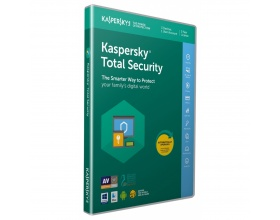 Kaspersky Total Security 2018 (3 Devices, 1 Year , 1 users) Retail Box (PC/Mac/Andro