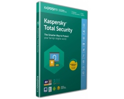 Kaspersky Total Security 2018 (5 Devices, 1 Year , 2 users) Retail Box (PC/Mac/Andro