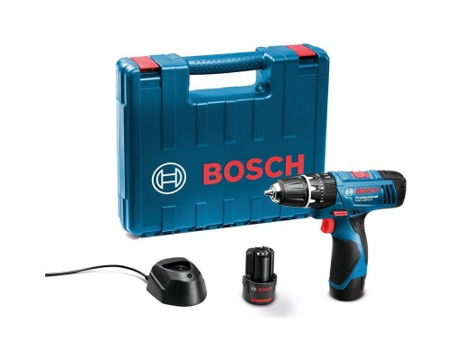 Bosch GSB 1080-2-LI ΚΡΟΥΣΤΙΚΟ ΔΡΑΠΑΝΟΚΑΤΣΑΒΙΔΟ (2 x1,5A)