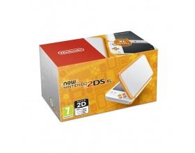 Nintendo 2DS XL White and Orange