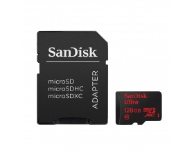 Sandisk Ultra microSDXC 128GB Class 10 with Adapter (80MB/s)