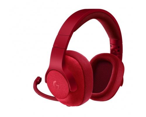 Logitech G433 triple Red