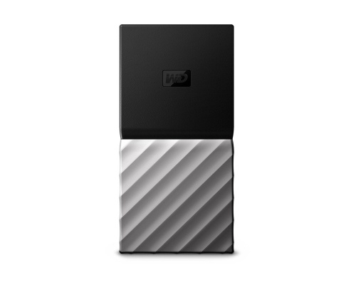 MY PASSPORT SSD 256GB SILVER BLACK WDBK3E2560PSL