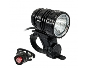 GS LED Bike Light Set 200 Lumen CREE XM-L2