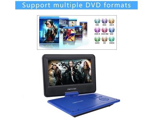 "DBPOWER 9,5"" ΦΟΡΗΤΟ DVD PLAYER KMPRO509 BLUE"