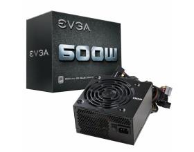 EVGA 600W Power Supply Unit 80 Plus