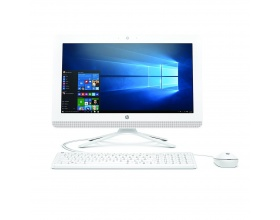 "HP 20-c030na 19.5"" All-in-One Desktop (White) i3-6100U/4GB/500GBW10"
