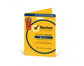 NORTON Security Deluxe 2018 (5 Αδειες, 1 ετος), EU 21355464