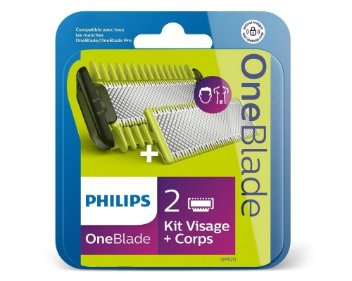 Philips QP620/50 Oneblade Kit Replacement Blades Face/Body
