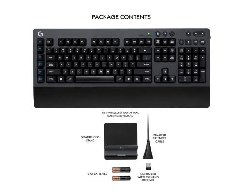 Logitech G613 Wireless Mechanical Gaming Keyboard UK Layout