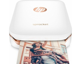 HP Sprocket Photo Mini Printer White Z3Z919A