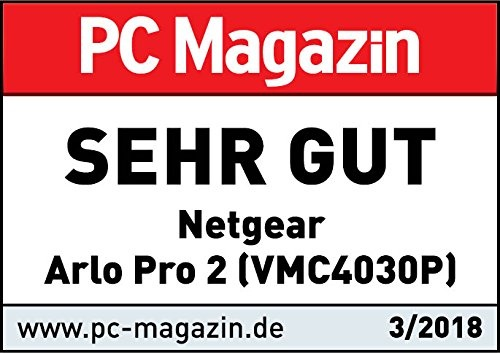 NetGear Arlo Pro 2 Add-on Smart Security Camera VMC4030P