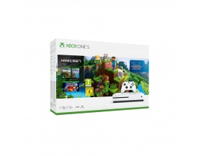 Microsoft Xbox One S 1TB & Minecraft Aquatic Edition