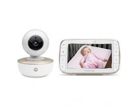 Motorola MBP855 Connect Wi-Fi HD Ενδοεπικοινωνία μωρού με έγχρωμο monitor LCD 5'' & κατευθυνόμενη κάμερα