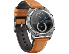 Honor Watch - Moonlight Silver/ Brown Leather