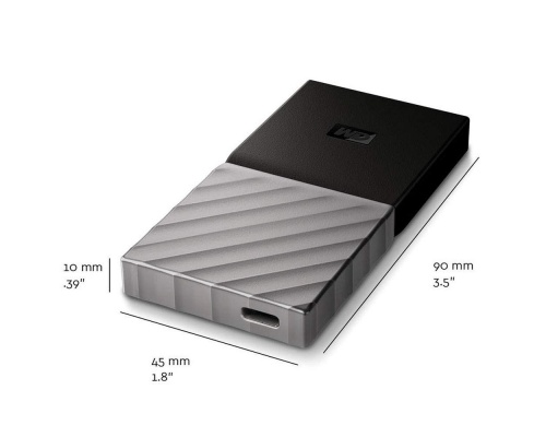Western Digital MyPassport 256GB SSD WDBKVX2560PSL-WESN