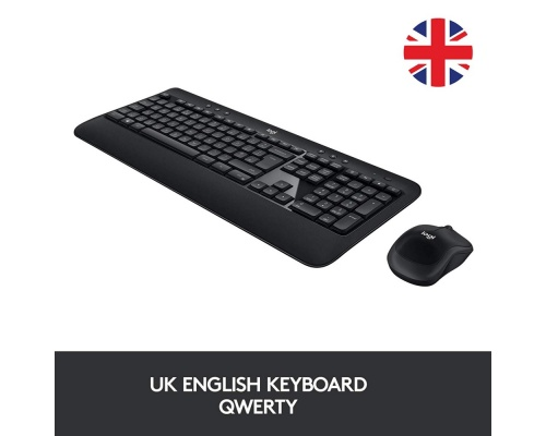 LOGITECH KEYBOARD MOUSE COMBO LOGITECH MK540 WIRELESS UK